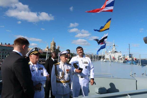 خانزادي يزور عدد من المدمرات التابعة للقوة البحرية الروسية
