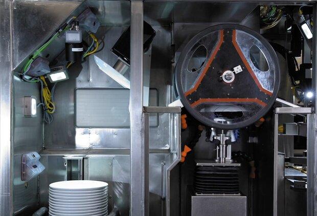 برتن دھونے کی مشین تیار