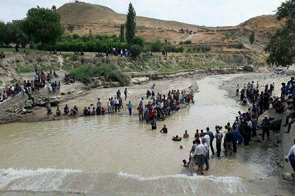 پسر نوجوان در آب بند رود مرزی چندیر غرق شد