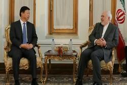 Iran's Zarif, China's Song Tao slam US unilateralism