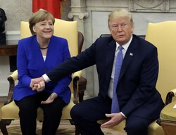 Merkel - Trump
