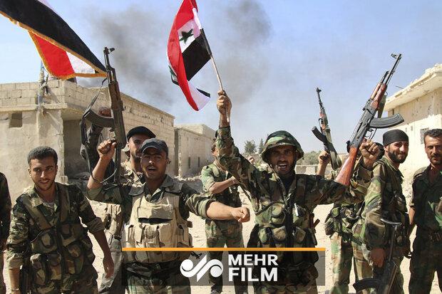 شامی فوج نے صوبہ حماہ کے بعض علاقوں کو دہشت گردوں سے آزاد کرالیا