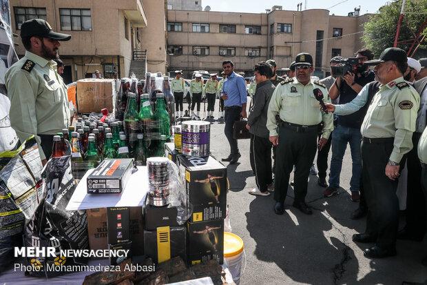 Tahran'da hırsızlığa yönelik operasyon