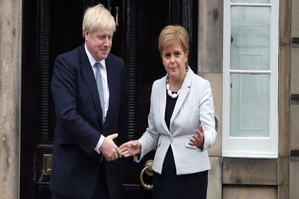 دیدار نخست وزیر انگلیس و وزیر اول اسکاتلند