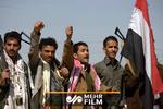 لحظه هدف قراردادن و سرنگونی پهپاد آمریکایی توسط یمنیها