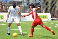 برتری مطلق تیم ملی فوتبال نابینایان مقابل عمان