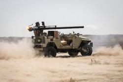 ایرانی فوج کے سریع ایکشن دستوں کی مشقیں