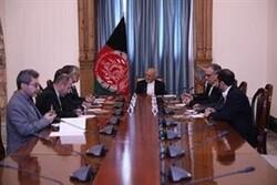 Ruhani'nin mesajı Afganistan Cumhurbaşkanı Gani'ye sunuldu