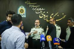 ایرانی پولیس کے ترجمان کی صحافیوں سے گفتگو