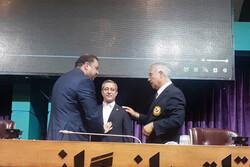 «سوت طلایی» داوری کاراته به کیکاوس سعیدی اهدا شد