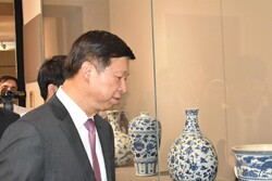 China's Song Tao visits National Museum of Iran