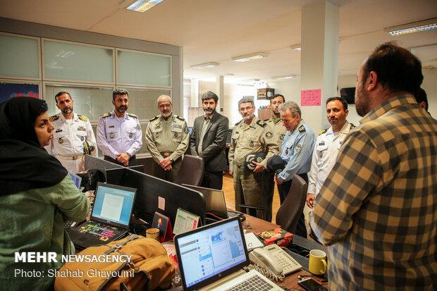 بازدید معاون تربیت و آموزش ارتش از خبرگزاری مهر