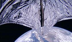 ماهواره خورشیدی با موفقیت ارتفاع خود را افزایش داد
