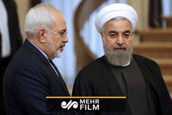 ایرانی صدر کا ظریف پر پابندی کے بارے میں رد عمل