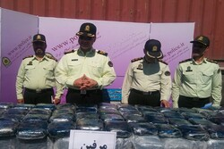 Police busts 3.600 tons of drugs in South Khorasan