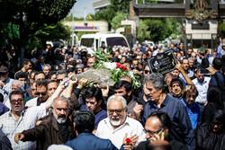 Funeral of Hossein Ahi