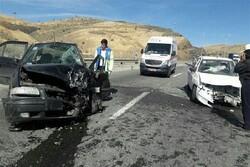تصادف در زنجان دو کشته برجا گذاشت