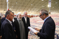 ضلع ہریس میں صدر روحانی نے کمبائنڈ پاور پلانٹ کے پہلے فیز کا افتتاح کردیا