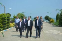 مشاور وزیر کشور از نحوی ساماندهی سواحل کلاچای بازدید کرد