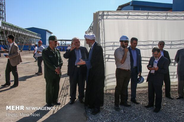 Inauguration of 1st phase of Combined Cycle Power Plant in E. Azarbaijan prov.