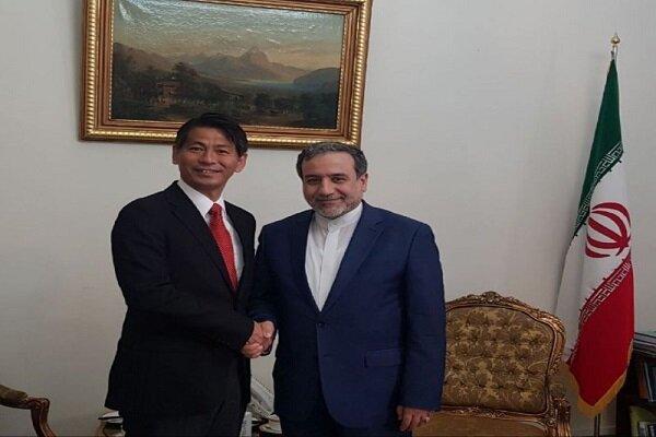 جاپان کے نائب وزیر خارجہ کی عراقچی سے ملاقات