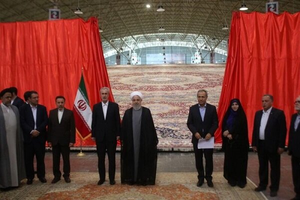 Intl. Carpet Fair inaugurated in Tabriz