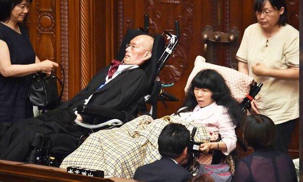 جاپان میں پہلی بار 2  معذور سینیٹر منتخب