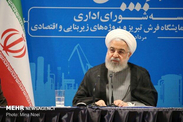 روحاني : الإجراءات الأميركية تجعل مشاكل المنطقة أكثر تعقيدا وخطورة