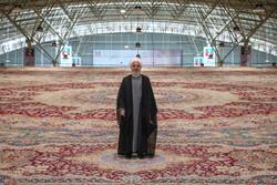 صدر حسن روحانی نے تبریز میں قالین کی بین الاقوامی نمائش کا افتتاح کیا