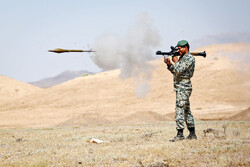 Army brigade hold firing range session near Qom