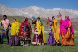 Bahtiyari halkının renkli düğününden fotoğraflar