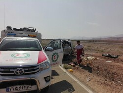 وقوع ۲ حادثه واژگونی در شرق استان سمنان/ ۳ نفر جان باختند
