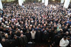 اردبیل کے معروف مداح کی تشییع جنازہ