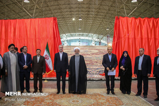 Intl. Carpet Fair kicked off in Tabriz