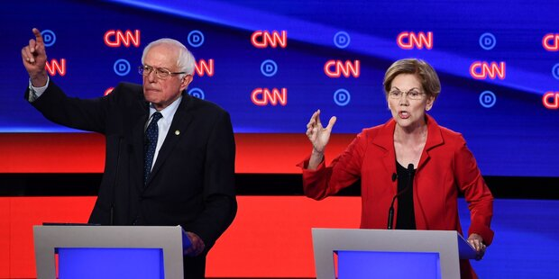 A narrative of the Democratic primary election battle