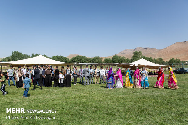 Wedding ceremony in Bakhtiari tribe: a festival of colors and music
