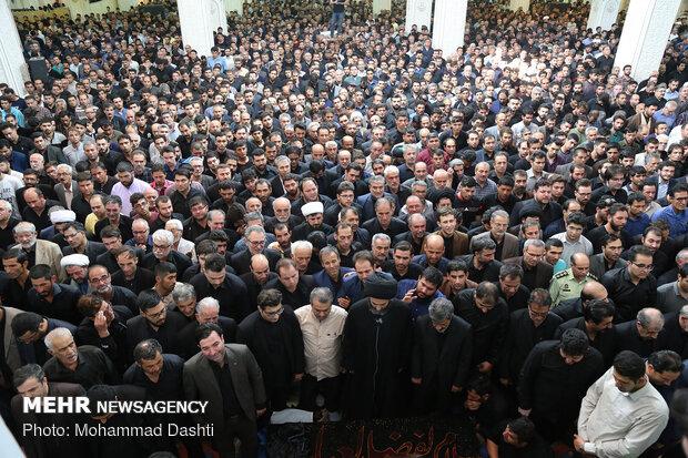 مراسم تشییع مداح شهیر اردبیلی