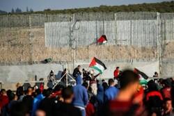Gazze sınırında iki Filistinli şehit oldu