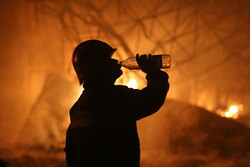 شرارههای آتش در جنگلهای بخش الوار گرمسیری اندیمشک ادامه دارد