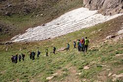 """تسلق صيفي على جبل """"بزسينا"""" شمال غربي ايران / صور"""
