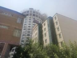 هتل آسمان شیراز دچار آتش سوزی شد