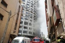 تخلیه منازل اطراف هتل آسمان/ ساختمان هتل تخریب نشد