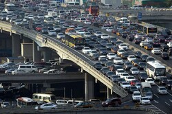 Tehran's traffic congestion reduced by 6% last month