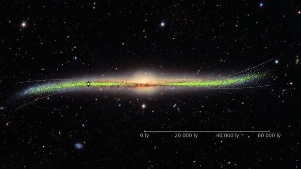 نقشه سه بعدی از کهکشان راه شیری ترسیم شد
