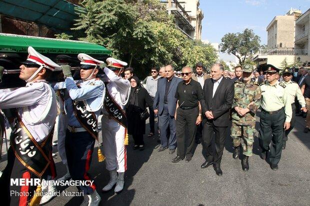 تشییع مرحوم امیر سرتیپ ایرج سپهر جانشین اسبق فرمانده کل ارتش