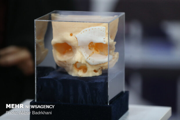 Iran unveils synthetic bones by 3D-printing