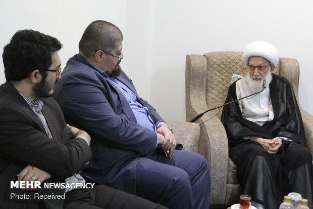 Managing directors, editors-in-chief of Iranian media visit Sheikh Isa Qassim