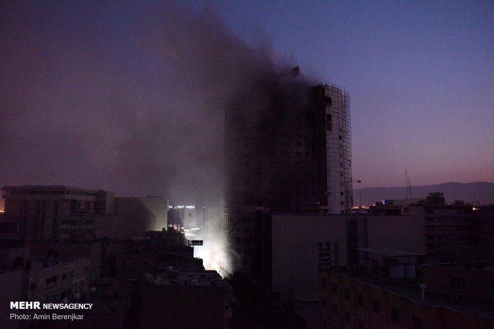 تخلیه منازل اطراف هتل آسمان شیراز