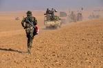 حشد شعبی طی عملیاتی نفوذ داعش به غرب سامرا را ناکام گذاشت