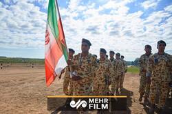 ماسکو میں ایران کی بین الاقوامی فوجی مقابلوں میں شرکت